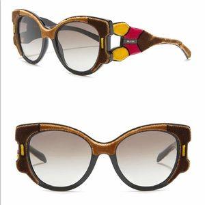 Prada Velvet Cat Eye Sunglasses